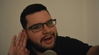 ASMR What did he say? Inaudible Whispering