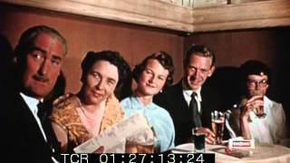 1950s Colour Footage of Tourists in Pigalle at Nightclub