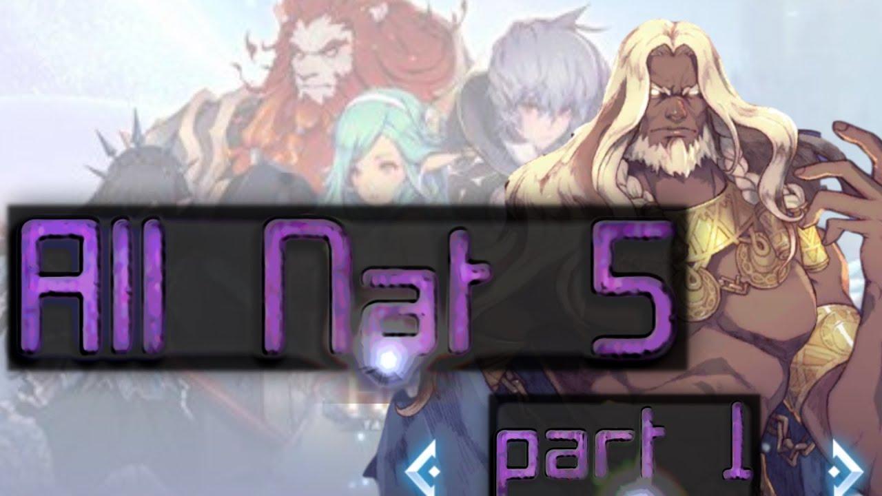 All Nat 5 (part 1) - Kingdom of Heroes: Tactics War