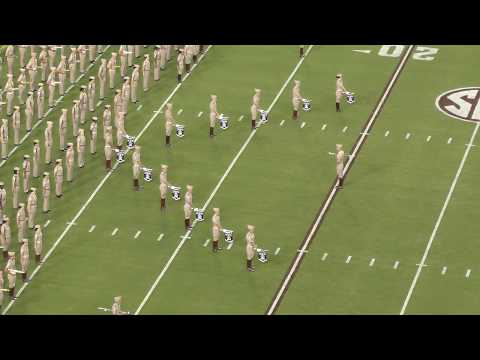 Fightin' Texas Aggie Band Halftime Drill - Nicholls State Game - Sept 9, 2017