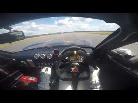 GINETTA G40 POV Onboard at Ljungbyhed with Filip Engdahl