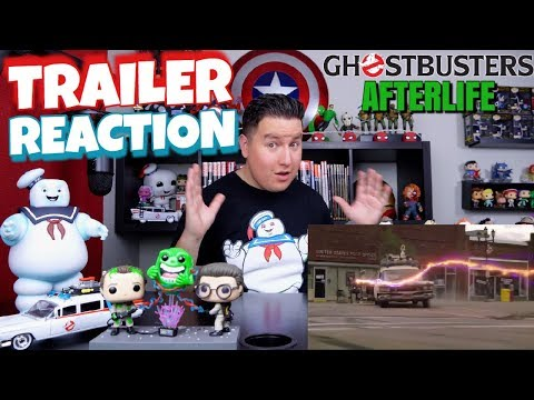 Ghostbusters Afterlife TRAILER REACTION!!!