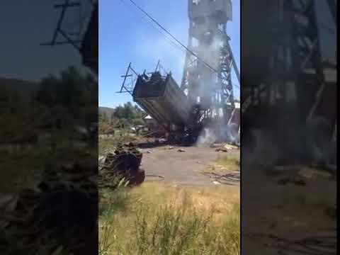 Headgear | De Beers Mine Kimberley View 2 | Wreckers Dismantling