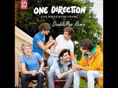 One Direction - Live While We're Young (DoublePee Remix)