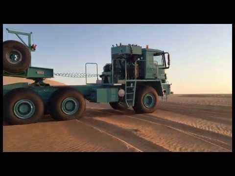 TITAN Oil Field Truck - Middle East