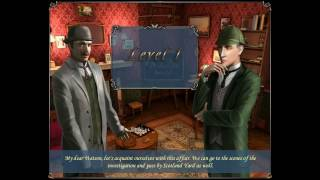 Sherlock Holmes: The Mystery of the Persian Carpet - Level 1 Walkthrough