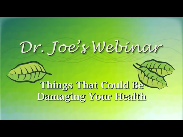 Things That Could Be Damaging Your Health