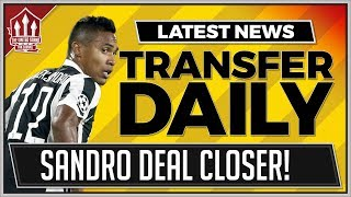 Alex SANDRO To Manchester United? MAN UTD Transfer News