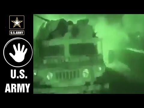 U.S. ARMY 07 - 75th Rangers & 5th SFG Conducting HVT Raids In Iraq.