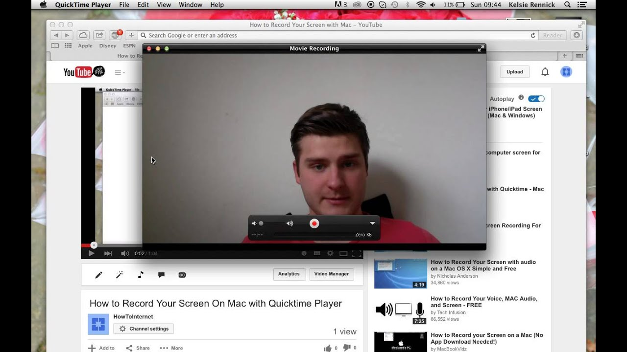 How to record yourself with built in webcam on macbook youtube how to record yourself with built in webcam on macbook ccuart Choice Image