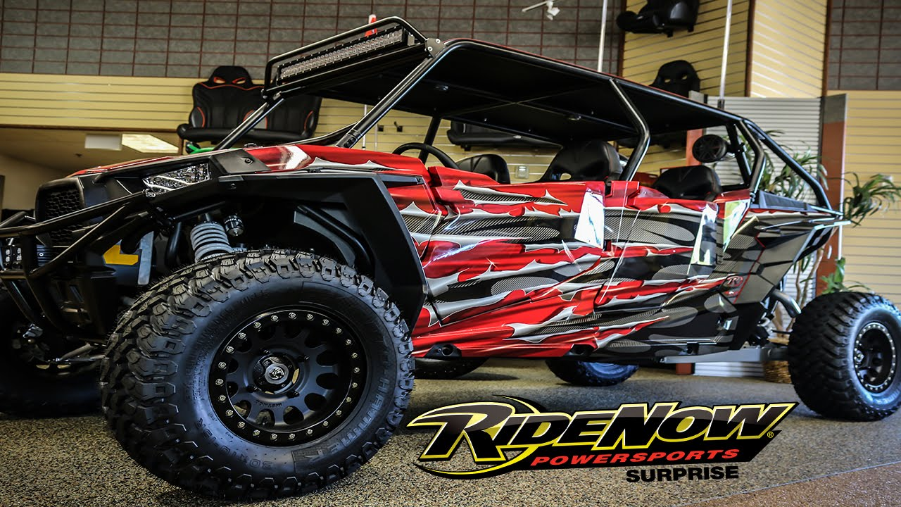 Custom Polaris RZR XP1000 UTV for sale: The Shredder ...