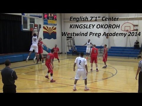 "CAL COMMIT 7'1"" KINGSLEY OKOROH IS A BEAST ! TOP INTERNATIONAL PROSPECT"