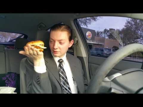Burger King NEW Crispy Chicken Sandwich - Food Review