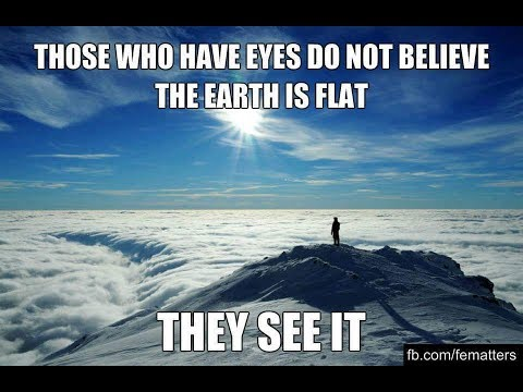 Flat Earth ~ TRUTH.. the only (Verifiable) TRUTH that can Un-Slave Humanity.. THINK