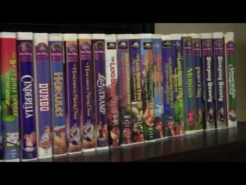 my disney movie collection for SALE