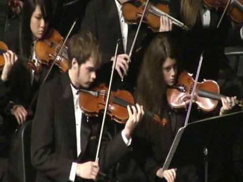 Elegiac Melodies-Grieg  2008 Grand Haven High School Symphony Orchestra-Spring Concert