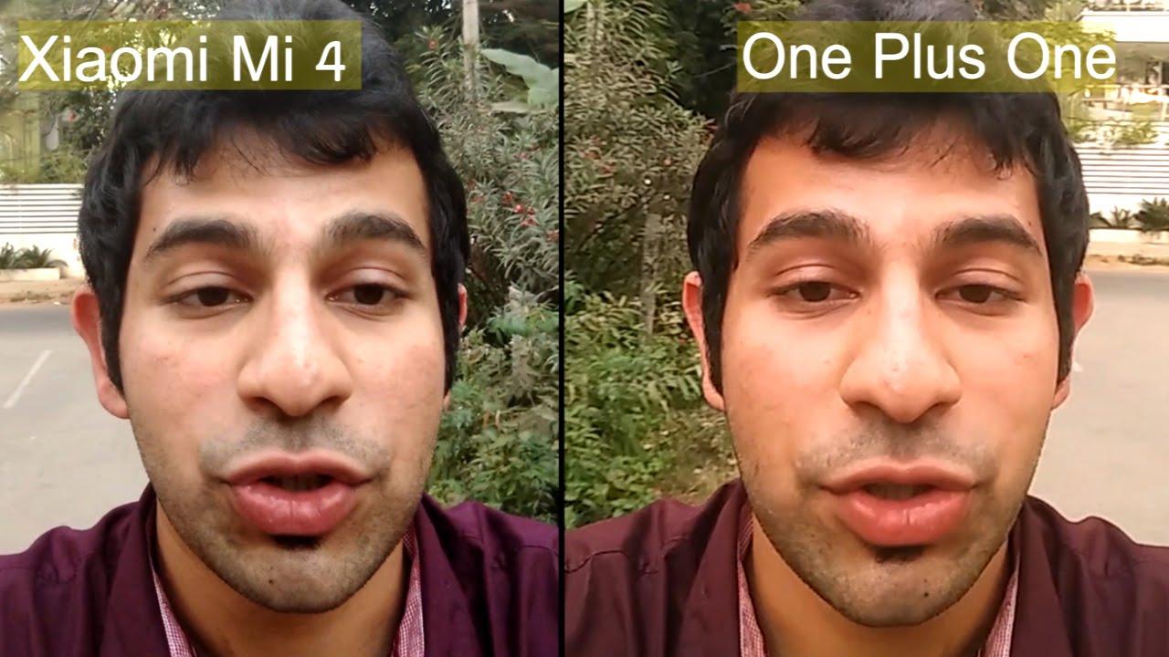 xiaomi mi 4 vs one plus one camera comparison with video and image