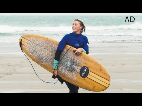Making A Surfboard! #ad