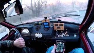 Электро ОКА (электромобиль) выезд №24 17.04.16  electric car VAZ OKA 1111 17.04.16