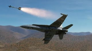 AIR to AIR COMBAT: MISSILES, CANNONS, EXPLOSIONS and CRASHES ! (DCS 2.5)