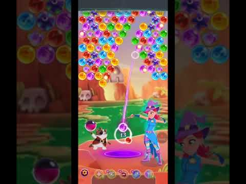 Bubble Witch 3 Saga Level 1449 ~ ONE BOOSTER