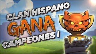 El PRIMER Clan Hispano en GANAR CAMPEONES I Tompinai Empire en su Semana de Liga de Guerra de Clanes