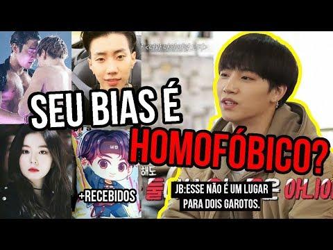 K-IDOLS QUE FORAM HOMOF脫BICOS+RECEBIDOS KPOP DA LOJA HMMIX | Sofredora K-popper