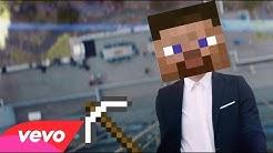 Mine for a Diamond - Official Minecraft Parody of High Hopes