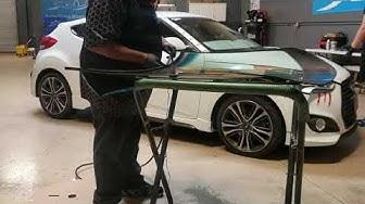 Hyundai Veloster windshield replacement