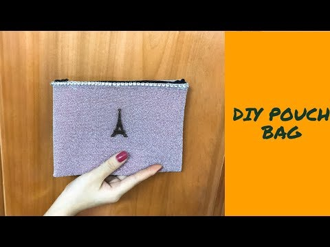 DIY ZIPPER PURSE BAG TUTORIAL  - Fashion Woman Pouch