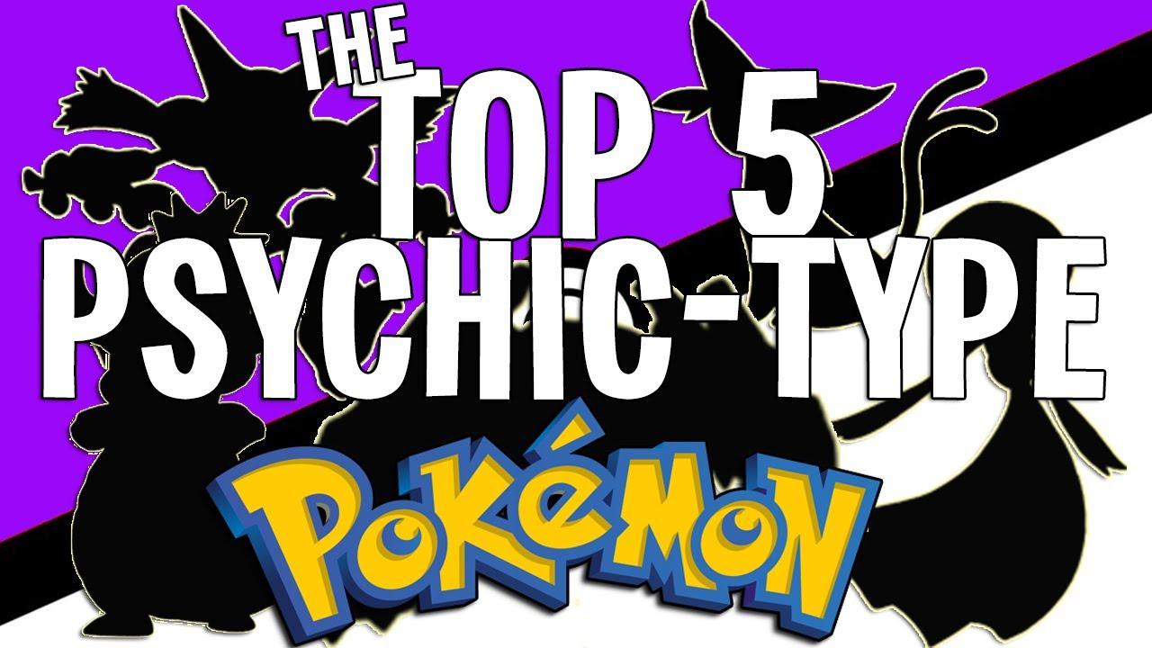 "Pokémon Top 5 - ""The Top 5 Psychic-Type Pokémon"" - YouTube"