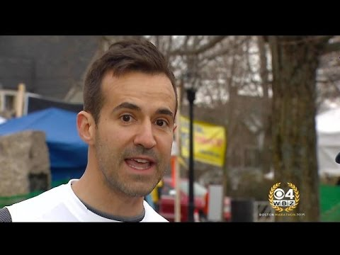 WBZ Anchor David Wade Nervous For First Boston Marathon