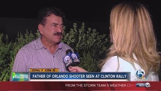 Story of Seddique Mateen attending Hillary Clinton's Kissimmee campaign rally goes viral