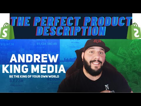 The Perfect Product Description On Your Shopify Store   King Commerce Dropship Academy Lesson 17 thumbnail