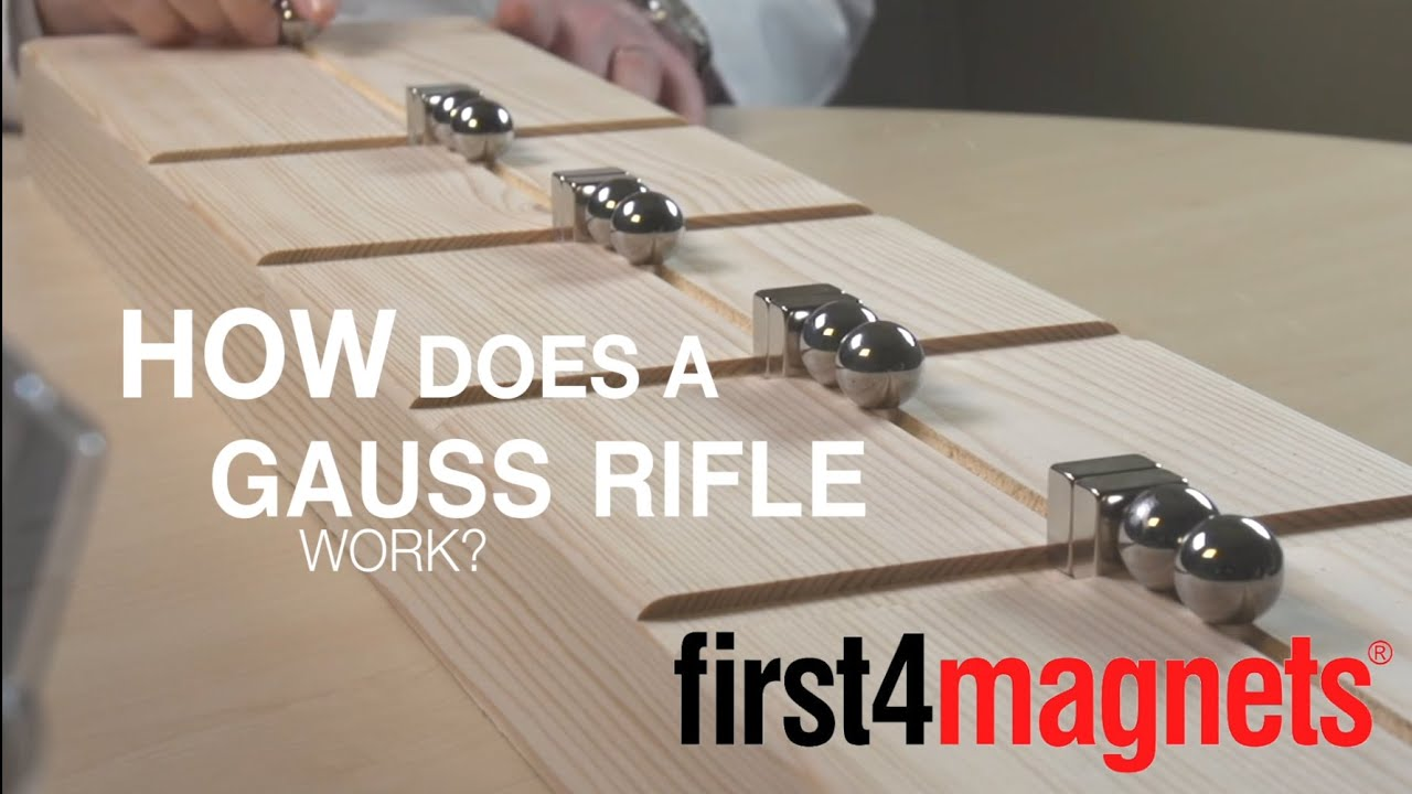 how does a gauss rifle work youtube