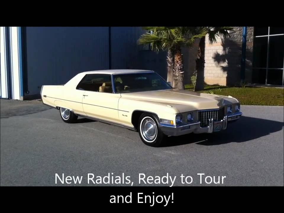 1971 Cadillac Coupe Deville One Owner 65k Miles For