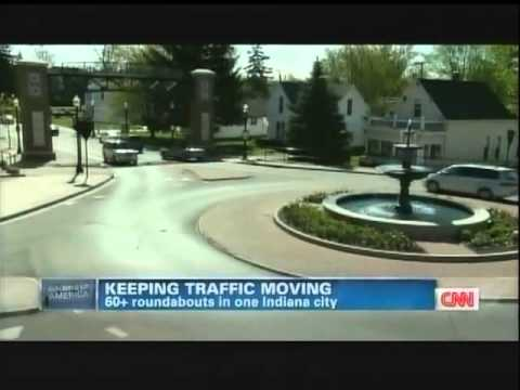 CNN Anderson Cooper Carmel  Indiana Roundabouts