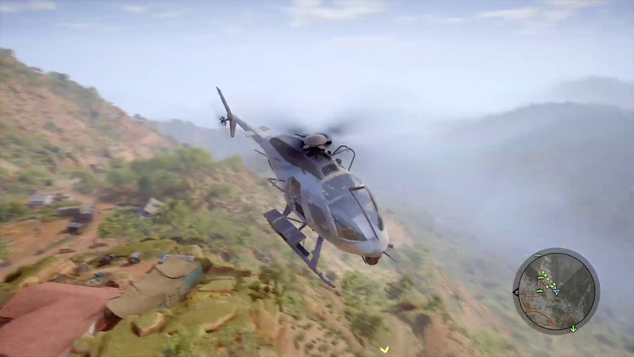 GR Wildlands - Sniping from a Helicopter (aka Social Distancing)