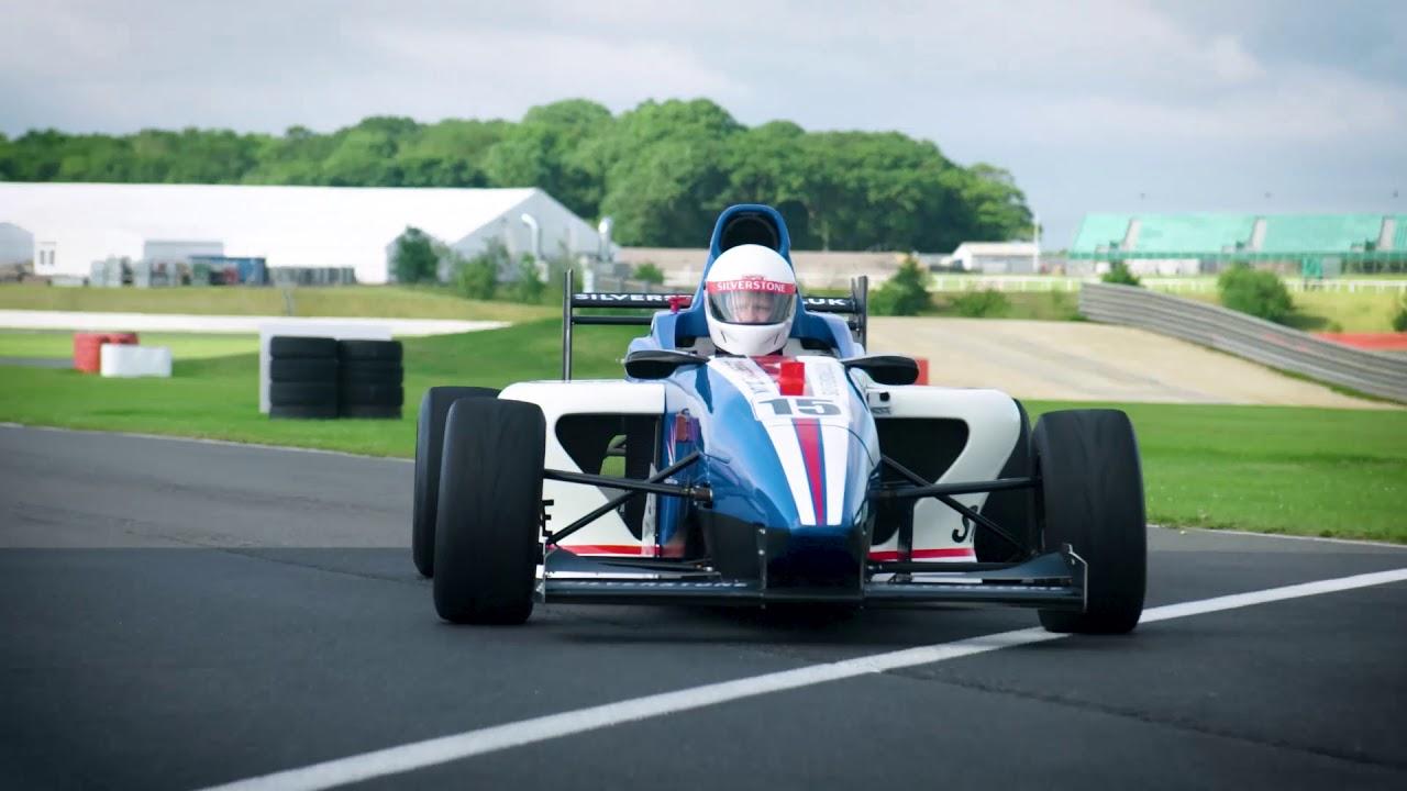 Formula Silverstone Single Seater Experience Drive Silverstone Youtube