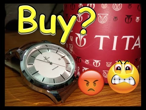Titan WR50M Watch Unboxing Watch-NK1584SL03