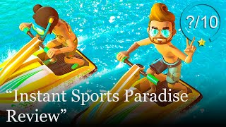 Instant Sports Paradise Review [PS4 & Switch] (Video Game Video Review)