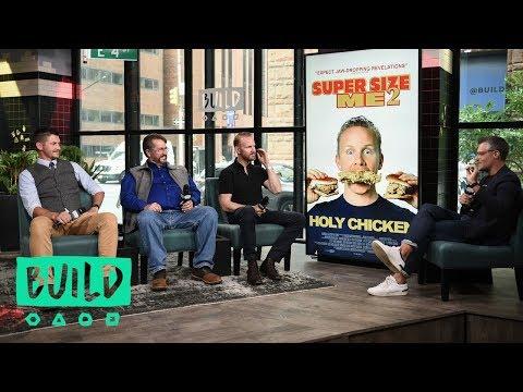 "Morgan Spurlock, Jonathan Buttram & Zack Buttram On Their Film, ""Super Size Me 2: Holy Chicken!"""