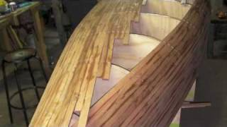 Cedar Strip Canoe, Build And Launch