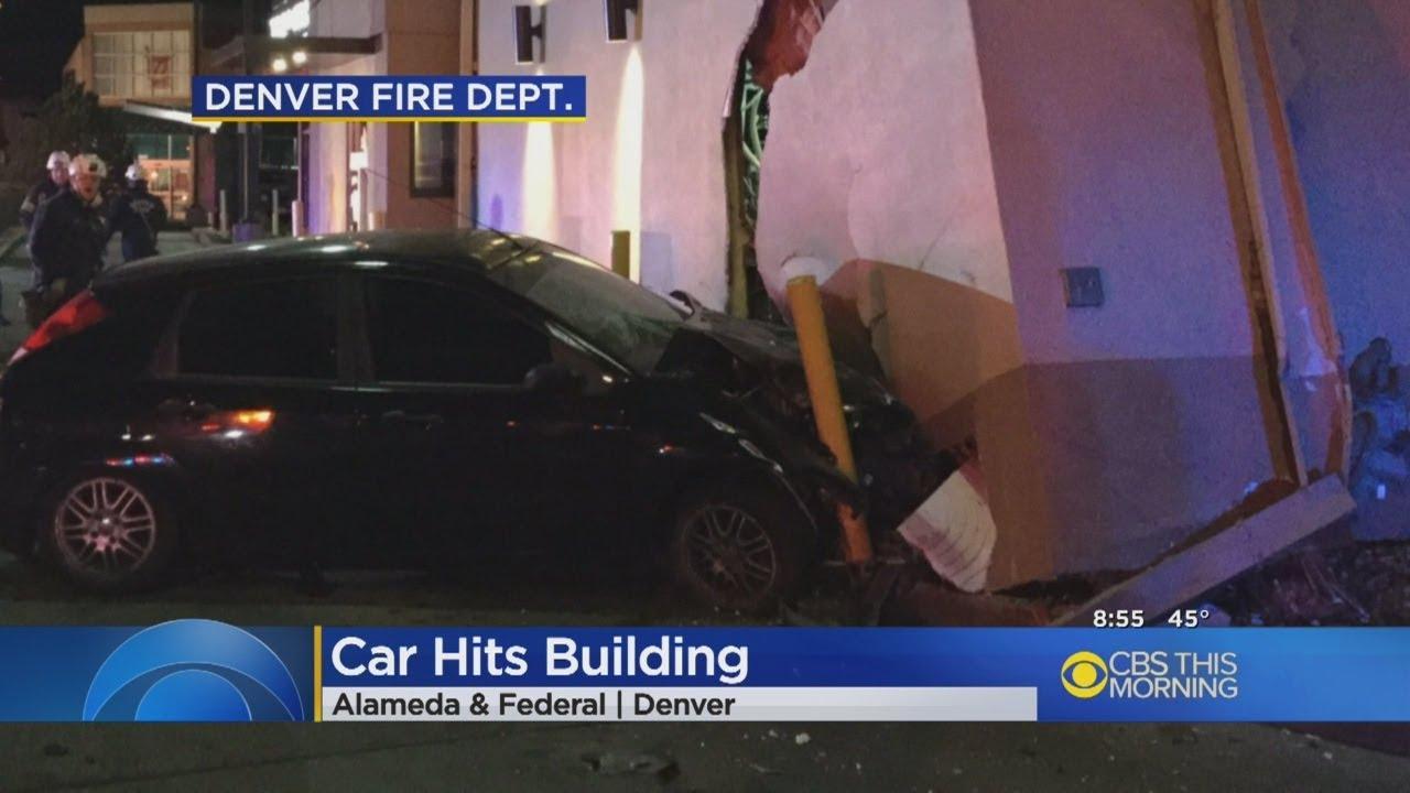 Car Crashes Into Taco Bell