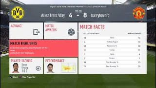Good game from Manchester united fc club from pro fifa player