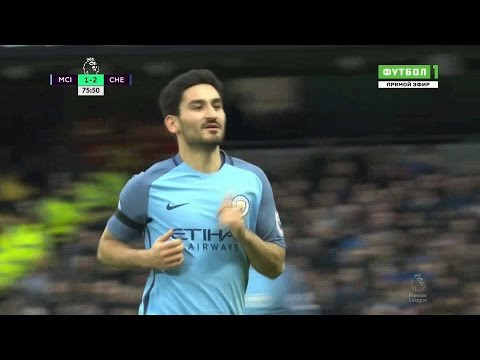 Ilkay Gundogan vs Chelsea (HOME) 03.12.2016 HD 1080p