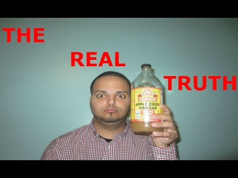 THE REAL TRUTH About Braggs Apple Cider Vinegar For Weight Loss