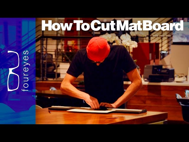 How To Cut Mat Board Tips You