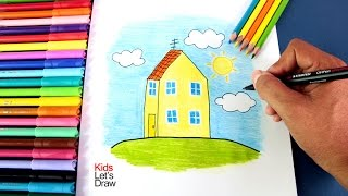Cómo dibujar LA CASA DE PEPA | How to draw Peppa Pig