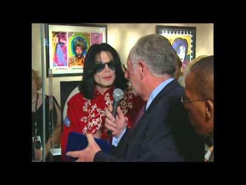 Michael Jackson Receives Key To The City Of Las Vegas 2003